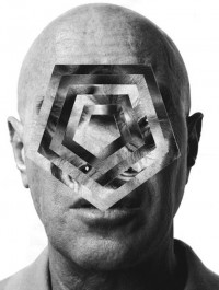 Faces, cut out and looped to geometric madness — Lost At E Minor: For creative people