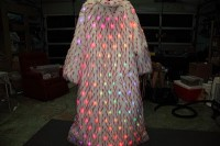 The Amazing Technicolor LED FUR Coat