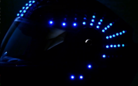 Custom LED Helmet