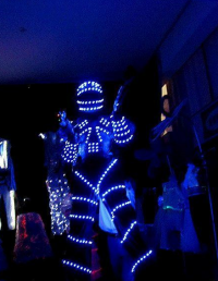 LED Robot Suit Inspired by David Guetta