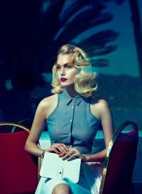 Sasha Melnychuk by Andoni & Arantxa for Elegance Netherlands May 2012 | ZAC FASHION