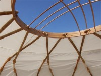 Eco Friendly Patio Furniture Nomad Yurt by EcoShack - Modern Homes Interior Design and Decorating Ideas on Decodir