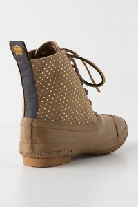 Pin-Dotted Rain Booties ($100-200) - Svpply