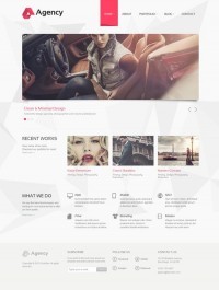 Agency – Beautiful, Clean and Minimal WordPress Theme | Designs Mix