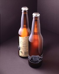 WORK Beer  - TheDieline.com - Package Design Blog