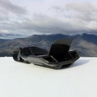 Carbon Fiber Sled by Snolo | Fancy Crave