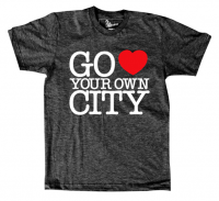 Go Love Your Own City T-Shirt | Fancy Crave