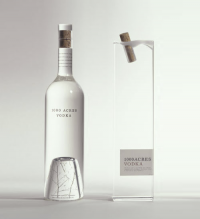 1000 Acres Vodka « From up North | Design inspiration & news