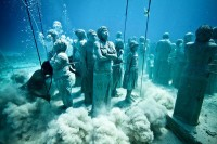 "Pictures: ""Bodies"" Fill Underwater Sculpture Park"