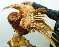 Animals made from wood shavings — Lost At E Minor: For creative people