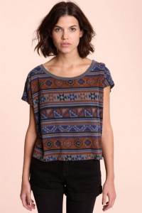 Urban Outfitters - Truly Madly Deeply Tribal Blanket Tee
