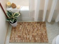 Springpad: DIY: Wine Cork Bathmat