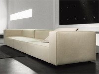 MODULAR FABRIC SOFA WITH REMOVABLE COVER ATOLLO COLLECTION BY PAOLA LENTI
