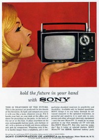 1960s Advertising - Magazine Ad - Sony (USA) | Flickr - Photo Sharing!