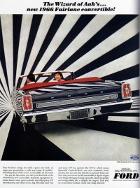 1960s Advertising - Magazine Ad - Ford Fairlane Convertible (USA) | Flickr - Photo Sharing!