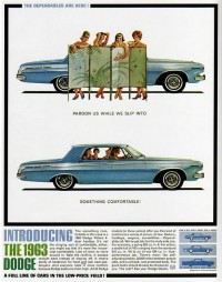 1960s Advertising - Magazine Ad - Dodge 63 (USA) | Flickr - Photo Sharing!