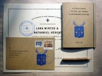 FPO: Winter-Hébert Wedding Invitation and Collateral