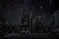 Imagining Gorgeous Starry Skies Over Darkened Cityscapes - My Modern Metropolis