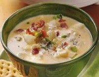 Slow Cooker Recipes - Cheesy Potato Soup