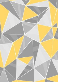 Pattern, grey - yellow Art Print by lindella | Society6