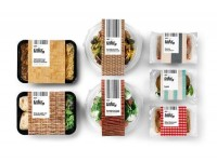 Packaging of the World: Creative Package Design Archive and Gallery: Delishop Take Away