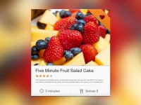 Recipe Widget by Alex Byrne