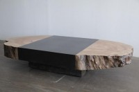 Natural End Coffee Table - contemporary - coffee tables - vancouver - by Wood Design