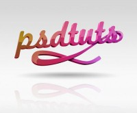 Create Super Glossy 3D Type   Psdtuts+
