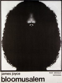 Bloomusalem, James Joyce, Polish Theater Poster: Polish Posters Shop