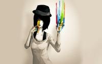 abstract,women women abstract paintings paint artwork open mouth hats colors 1920x1200 wallpaper – abstract,women women abstract paintings paint artwork open mouth hats colors 1920x1200 wallpaper – Arts Wallpaper – Desktop Wallpaper