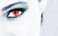 close-up,futuristic closeup futuristic red eyes cyber girls 1920x1200 wallpaper – Close-up Wallpapers – Free Desktop Wallpapers
