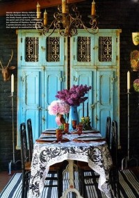 @Mackenzie's Floral--- Blue / beautiful ( interior by Wendy Valliere )