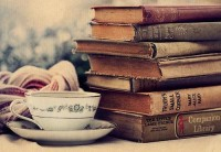 Time to Relax / Books and a cup of tea... perfect