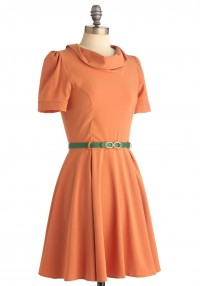 Cowl Me Dress | Mod Retro Vintage Dresses | ModCloth.com