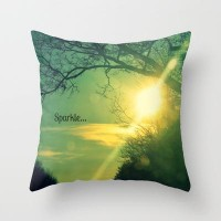 Sparkle Throw Pillow by RDelean | Society6
