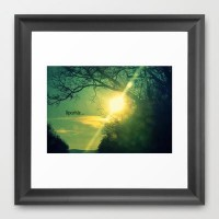 Sparkle Framed Art Print by RDelean | Society6