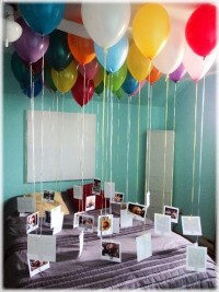 Balloons are the new trend, and this is a super cute idea!
