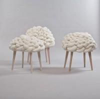 Cloud Stool Cloud Stool Design by Joon&Jung