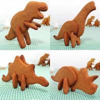 3D Dinosaur Cookie Cutters | Fancy Crave