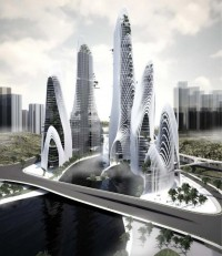 Shan-Shui City by Ma Yansong - MAD Architects - wordlessTech