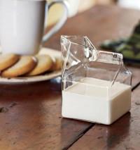 Glass Milk Carton   Fancy Crave
