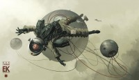 Concept Art World » Entartete Kunst by Derek Stenning