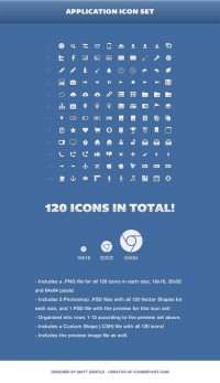 Freebie: Application Icon Set (PNG, PSD, CSH) | Codrops