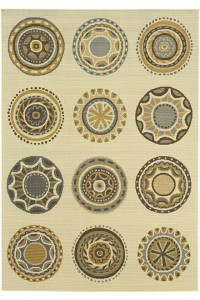Celestial Area Rug II - Outdoor - Synthetic Rugs - Area Rugs - Rugs | HomeDecorators.com