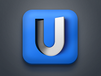 U - icon experiment by Richard Gazdik
