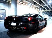 Project Black Mist Ferrari 458 Italia | Fancy Crave