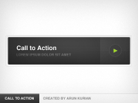 Call to Action Button by Arun Kurian - Designmoo