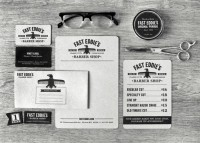 Fast Eddie's Barber Shop : Lovely Stationery . Curating the very best of stationery design