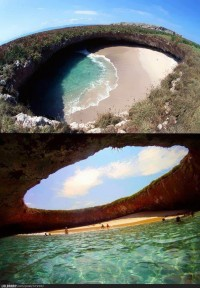 Hidden Beach - I have to go here O.O | The Lolbrary - New Funny Random Pictures Added Daily