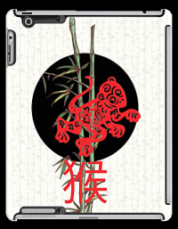 """Monkey (chinese zodiac)"" iPad Cases by BelleFlores 